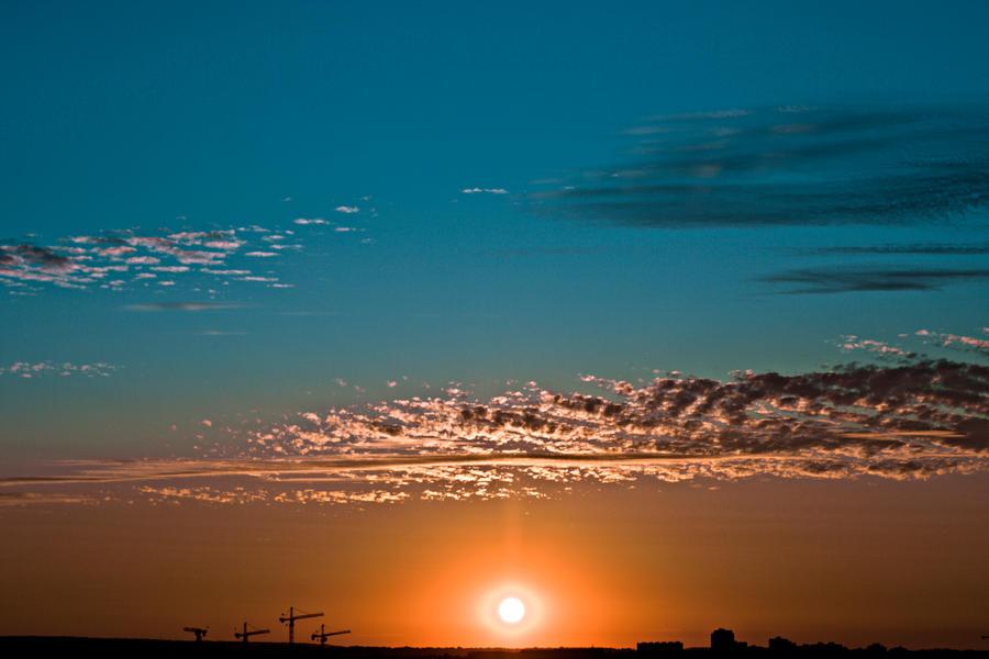 URBAN SUNSET STOCK by ArwenArts