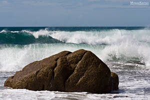 WAVES AT COAST STOCK by ArwenArts