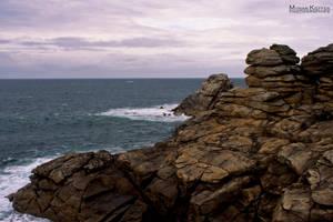 SEA BACKGROUND STOCK II by ArwenArts