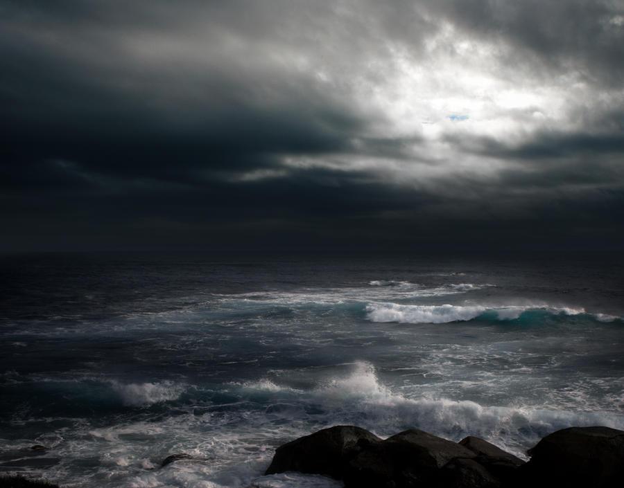 STORM AT SEA BG STOCK III by ArwenArts