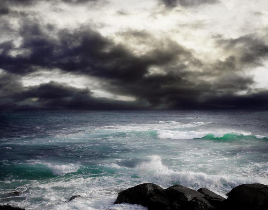 STORM AT SEA BG STOCK IX.2 by ArwenArts