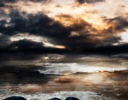STORM AT SEA BG STOCK IX by ArwenArts