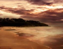 BEACH BACKGROUND STOCK II by ArwenArts