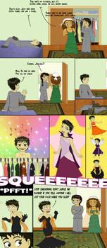 Chibi Comic: Dress-Up by Regendy