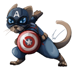 Captain Ameowrica by The-Manticore