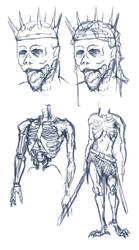 Dark Lord concept sketches (commission) by The-Manticore