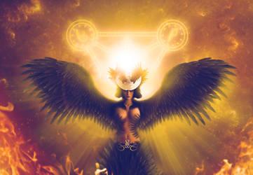 Harpy Goddess by Bamisaur