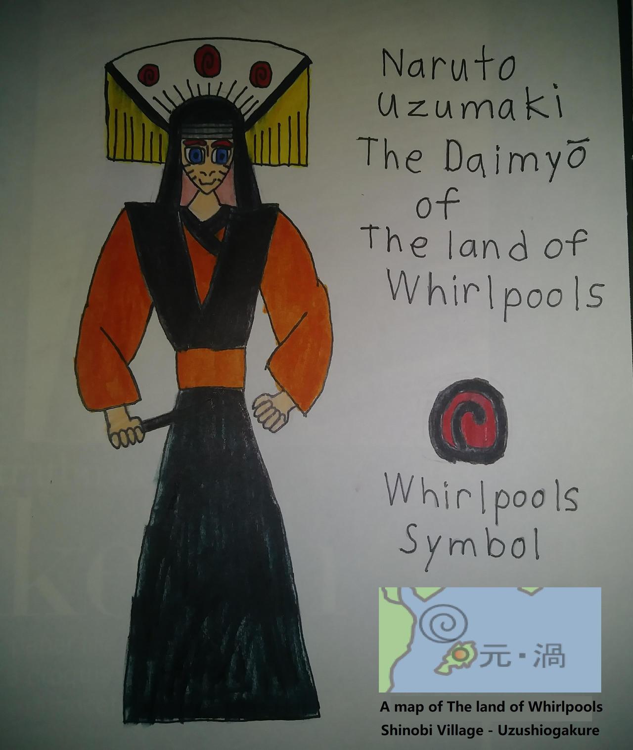 Whirlpool Daimyo Naruto by James620 on DeviantArt