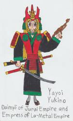 Daimyo And Empress Yayoi Yukino by Catholic-Ronin