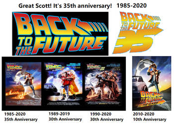 Back To The Future 35th Anniversary by Catholic-Ronin