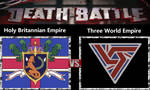 Holy Britannian Empire vs Three World Empire by Catholic-Ronin