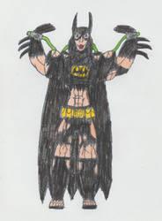 Batgirl (helena Bertinelli) Taking The Venom by Catholic-Ronin