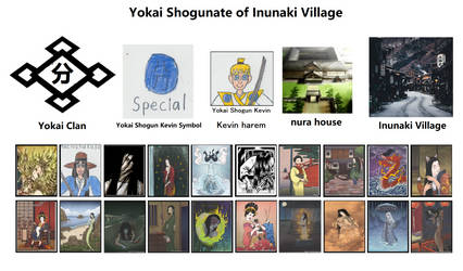 Yokai Shogunate of Inunaki Village by Catholic-Ronin