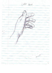 asteidl's left hand