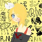 Rin Kagamine fanart