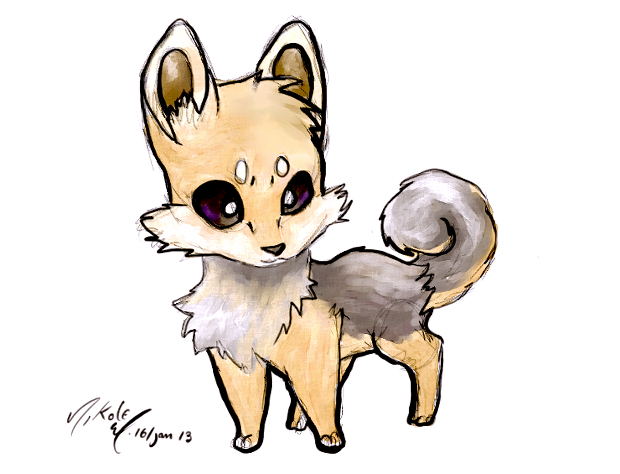 Yoshi my Chihuahua/Yorkie by AmethystCreatures