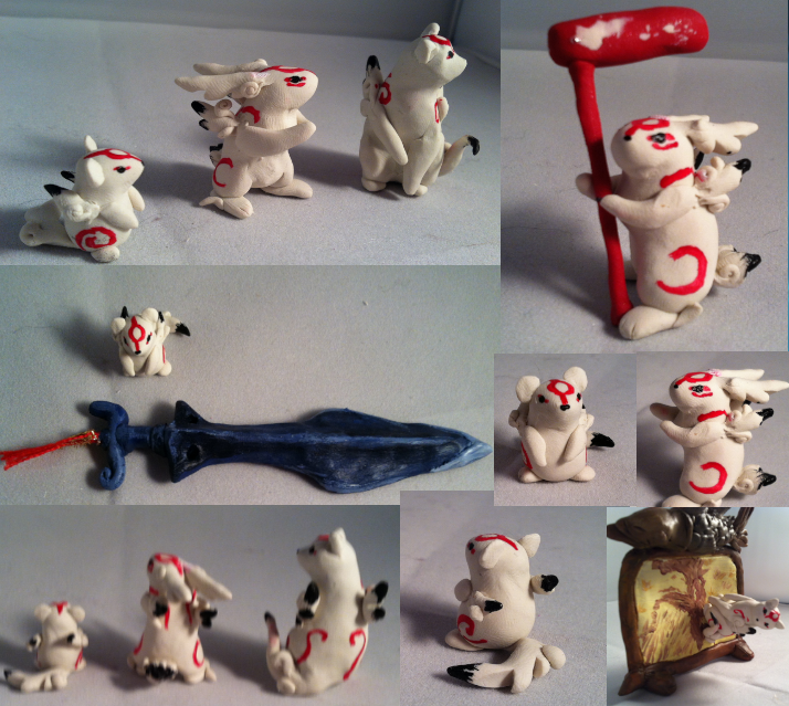 Okami Brush Gods 3/13 by AmethystCreatures