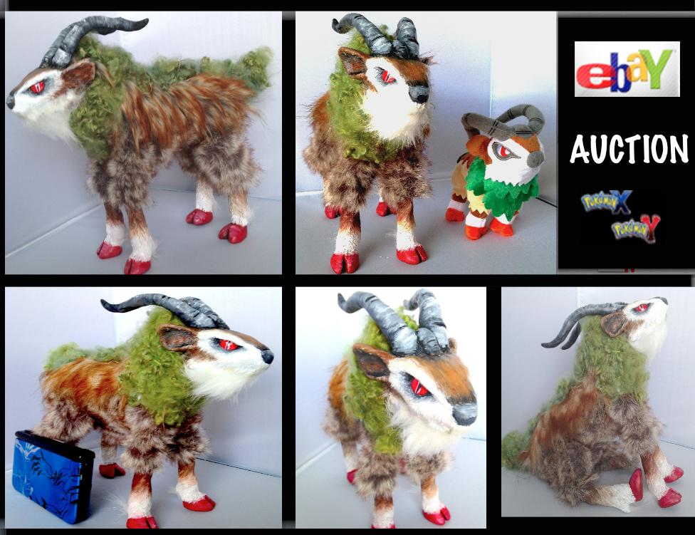 OOAK Gogoat Doll (EBAY AUCTION) Photoset by AmethystCreatures