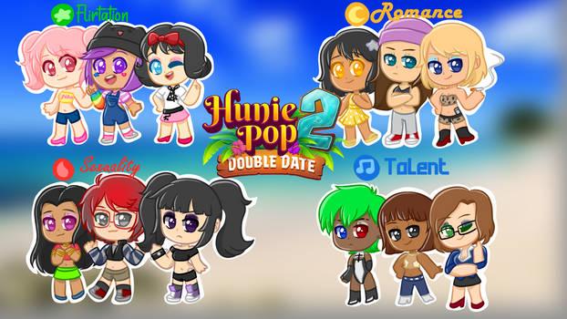 Huniepop 2 Characters