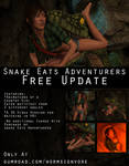 Snake Eats Adventurers Country Girl Free Update! by wormsign2k