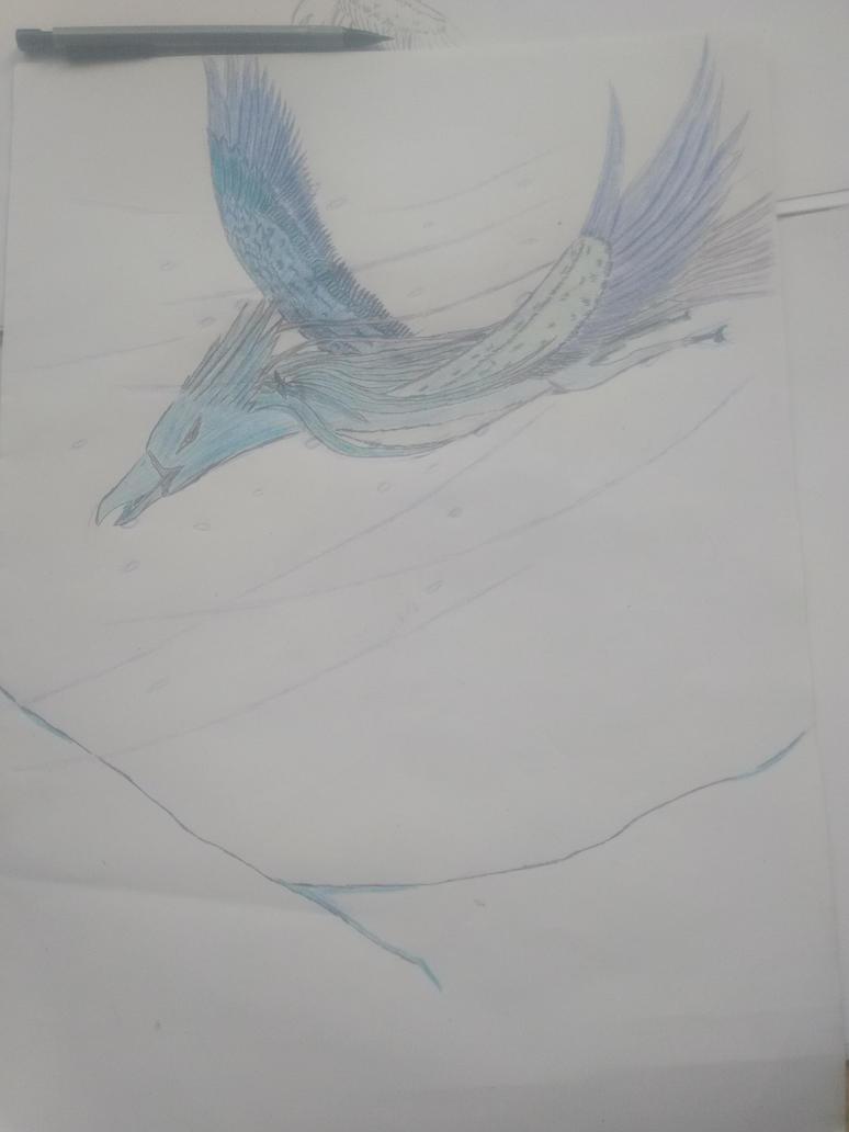 Aviana in phoenixform by Martinkarovic