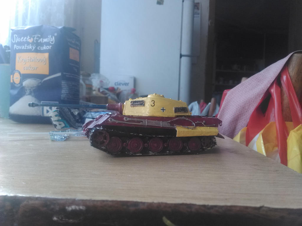 Tiger II Henschell - KingTiger by Martinkarovic