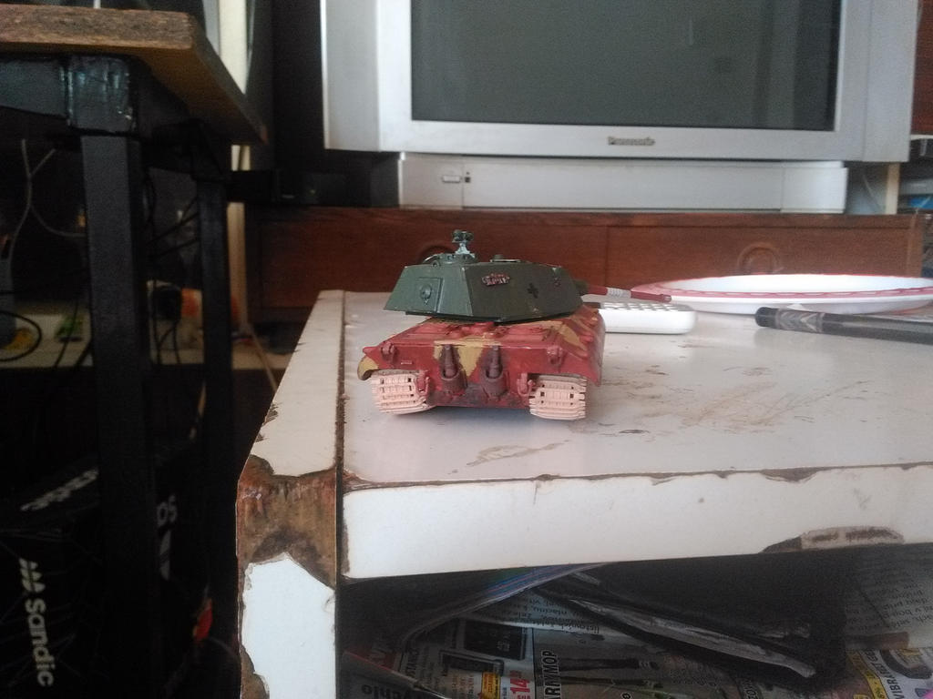 E 100 Ausf.B back by Martinkarovic