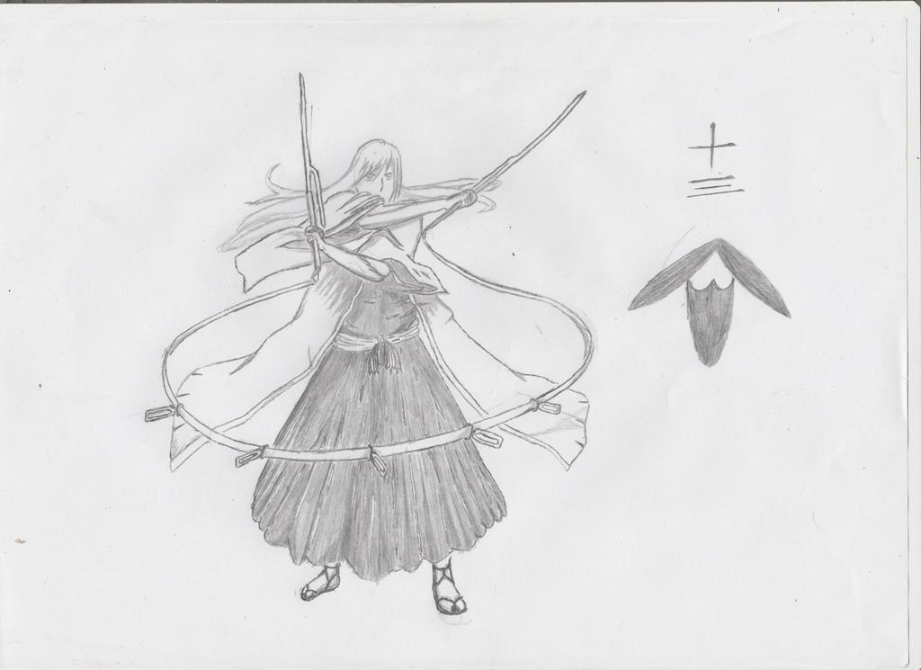 Jushiro Ukitake by Martinkarovic