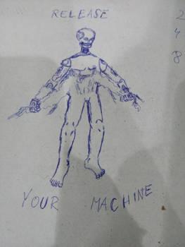 Industrialized pen doodle