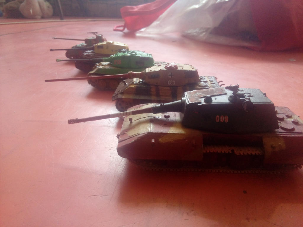 Achtung panzers by Martinkarovic