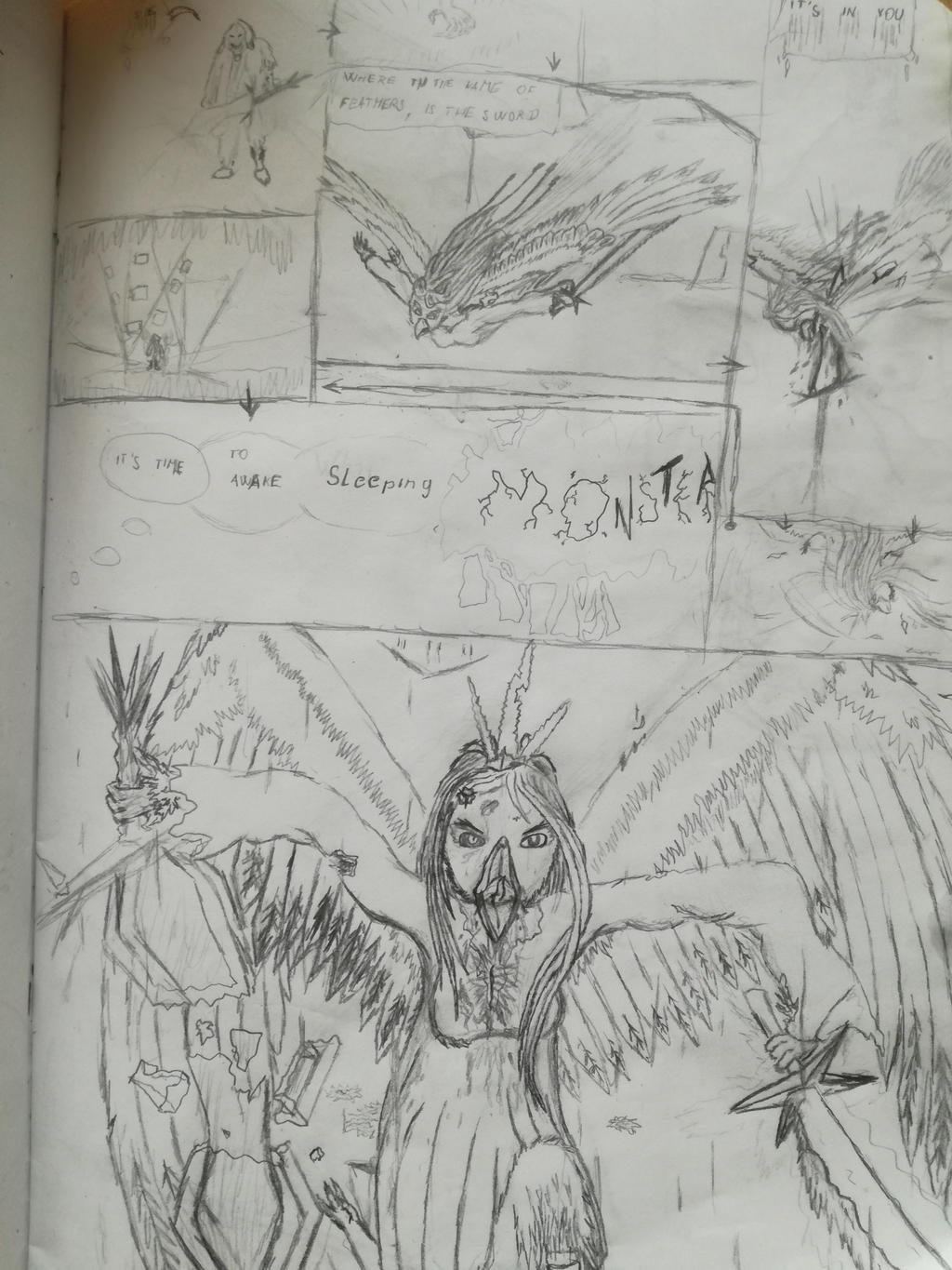 Unnamed fight page 1 by Martinkarovic