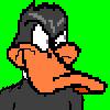 Daffy pixel by aldude999