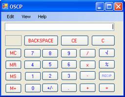 OSCP (Open Source Calculator Project)