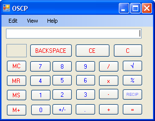 OSCP (Open Source Calculator Project) by aldude999