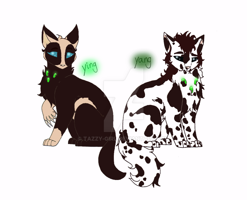 Ying and Yang by Tazzy-girl