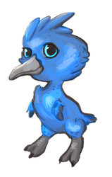 Bluebird Kiwi by bluetheillusion