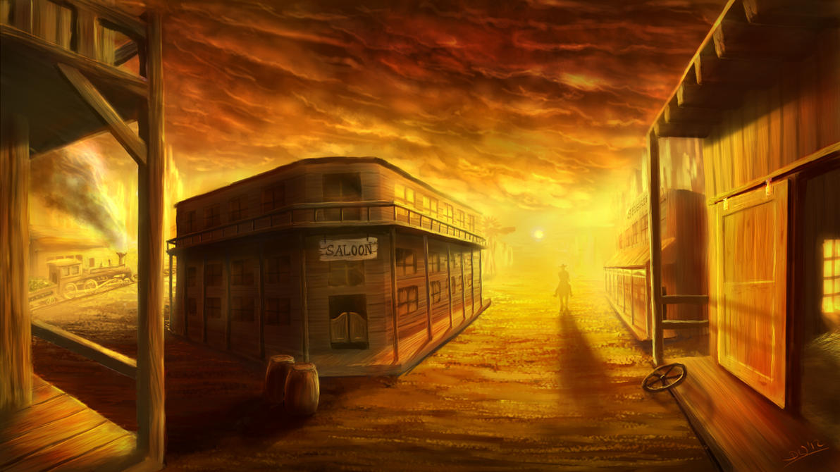western town background - photo #12