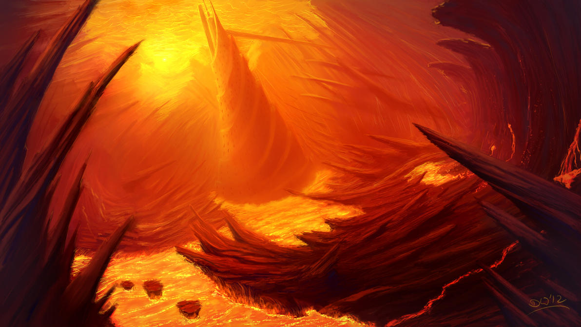 Burning Realm by danielwachter