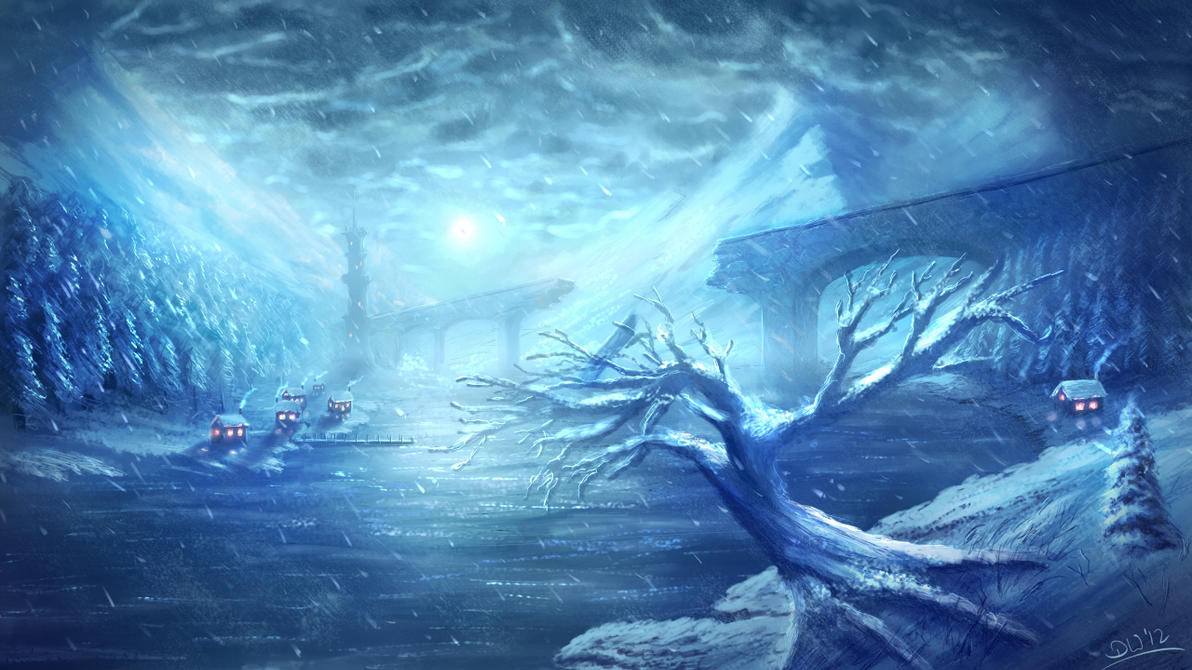 Eternal winter by danielwachter on deviantart for Cool life paint cost
