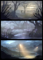 Environment Sketches (Video-Link inside)