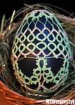 Tatting Easter Egg by M2Grzegorczyk