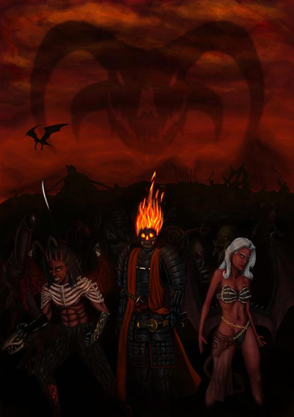 Demon Invasion by Aon616