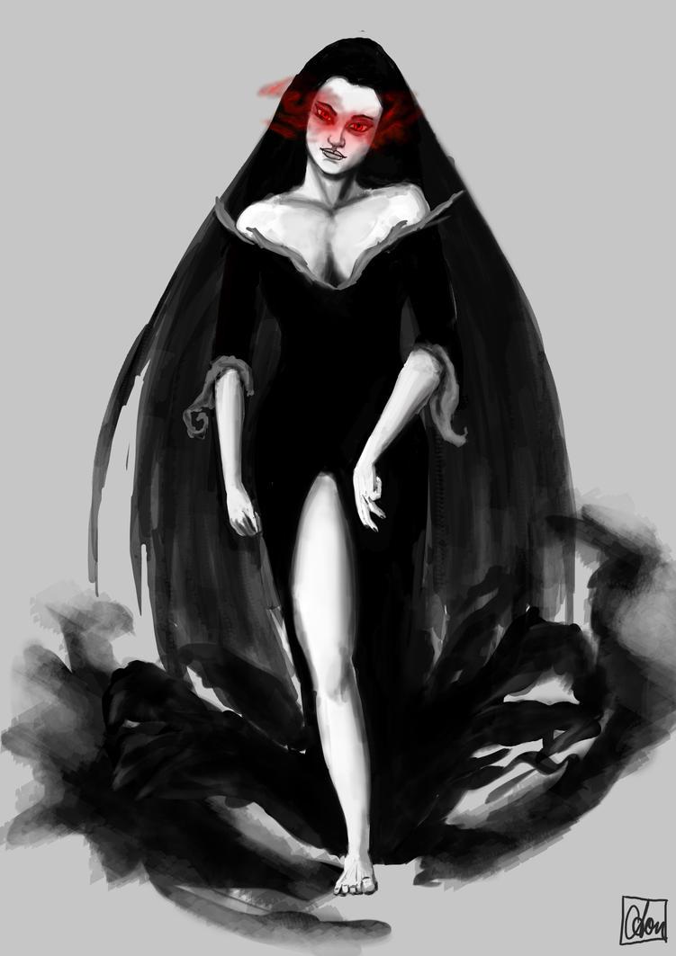 Vampire Sketch by Aon616