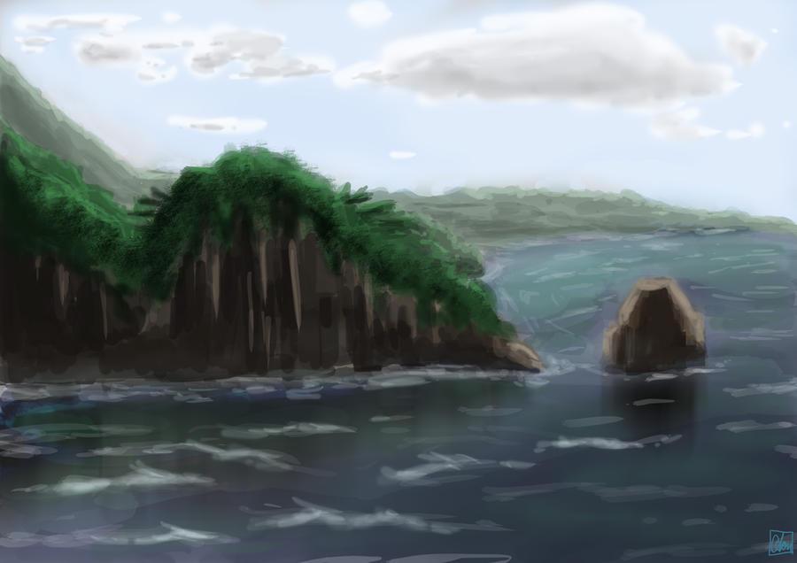 Caribbean Isle by Aon616