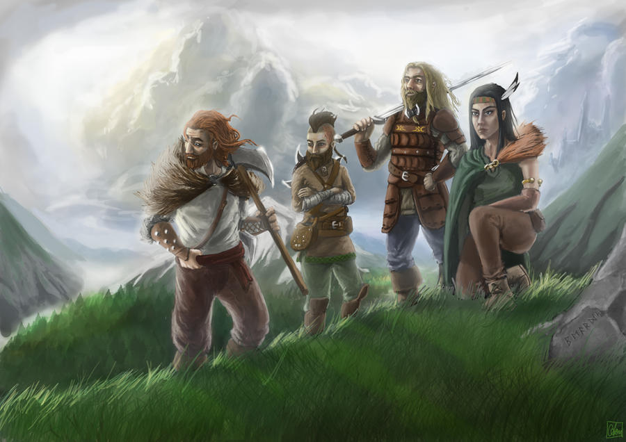 Heroes of B.E.A.R.D.S. by Aon616