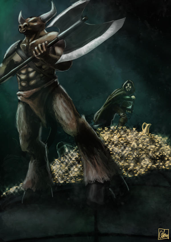 Seven Deadly Sins - Greed by Aon616