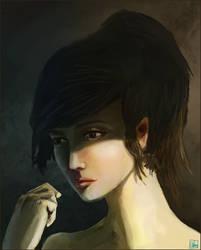 Portrait practice by Aon616