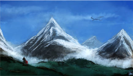 Mountain Scenery #2 by Aon616
