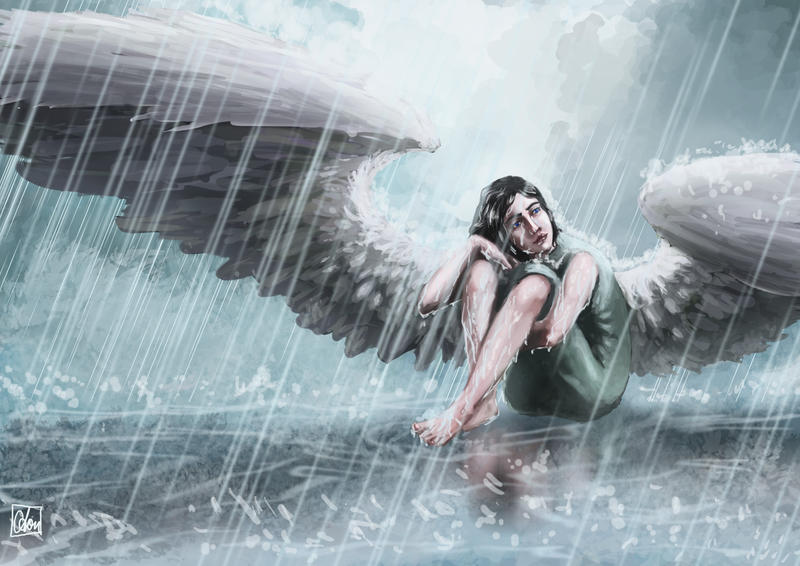 Angel of Autumnrain remake by Aon616
