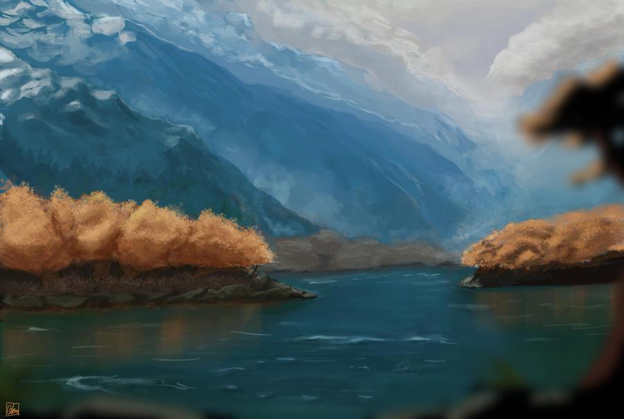 Autumn Mountains 2 by Aon616